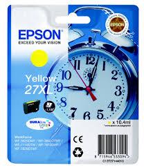 Epson C13T27144010 Cartuccia d'inchiostro giallo 10.4ml, ~1100 pagine, XL