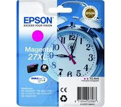 Epson C13T27134010 Cartuccia d'inchiostro magenta 10.4ml, ~1100 pagine, XL