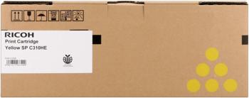 Ricoh 406482 toner giallo alta capacit�, durata 6.000 pagine