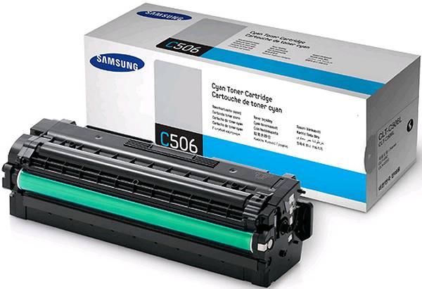 Samsung CLT-C506L toner cyano, durata 3.500 pagine