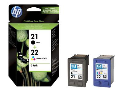 Hp sd367 HP 21 - C9351AE + HP 22 - C9352AE