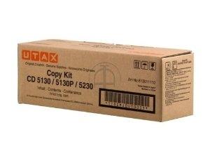 Utax-Triumph Adler 613011110 toner nero, durata indicata 3.000 pagine