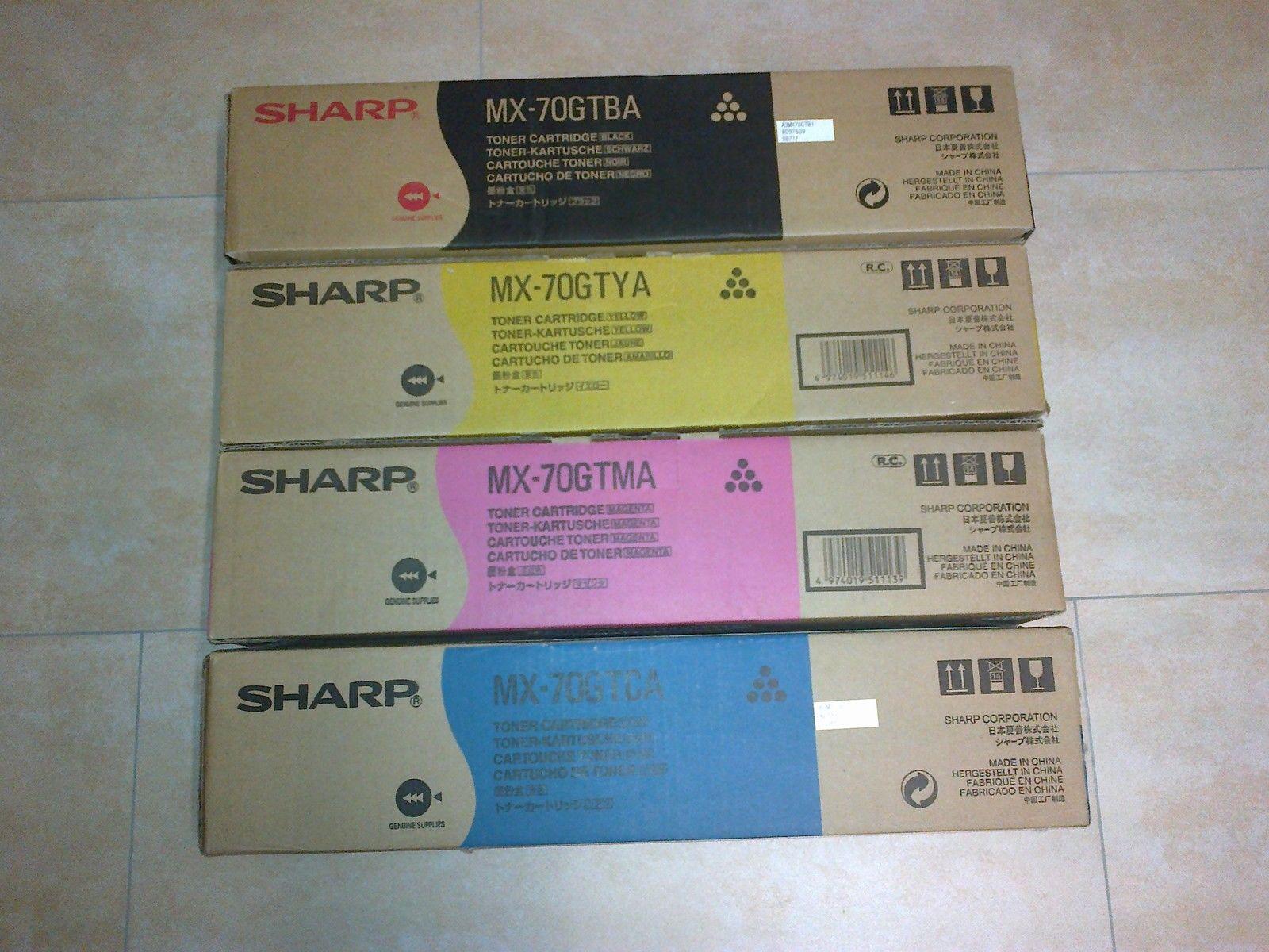 Sharp MX-70GTCA toner cyano durata 32.000p
