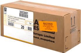Zebra 3003061-20PCK Carta 20 rotoli per ricevute, termo, 1000D80, 50mm x 19m