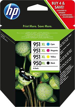 Hp C2P43AE Multipack: cyano. magenta. giallo, nero.HP 950XL+ HP 951XL