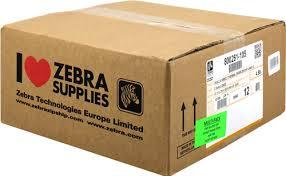 Zebra 800261-105-12PCK Etichette 12 Rotoli, termo, 2000D, 31,75x25,4 mm, 2580 Et./Rotolo