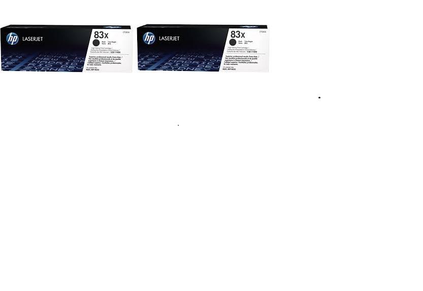 Hp cf283xd toner nero, durata 2.200 pagine.Confezione doppia.(2 pezzi)