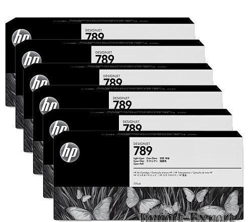 Hp CH617A cartuccia inchiostro magenta, latex hp 789, capacit� 775ml
