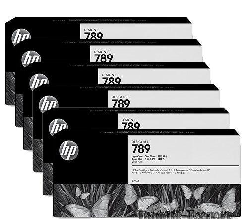 toner e cartucce - CH615A cartuccia inchiostro nero, latex hp 789, capacit� 775ml