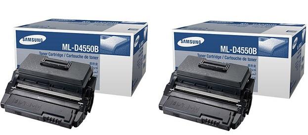 Samsung ml-d4550bx toner originale, durata 20.000 pagine( confezione doppia 2 pezzi)