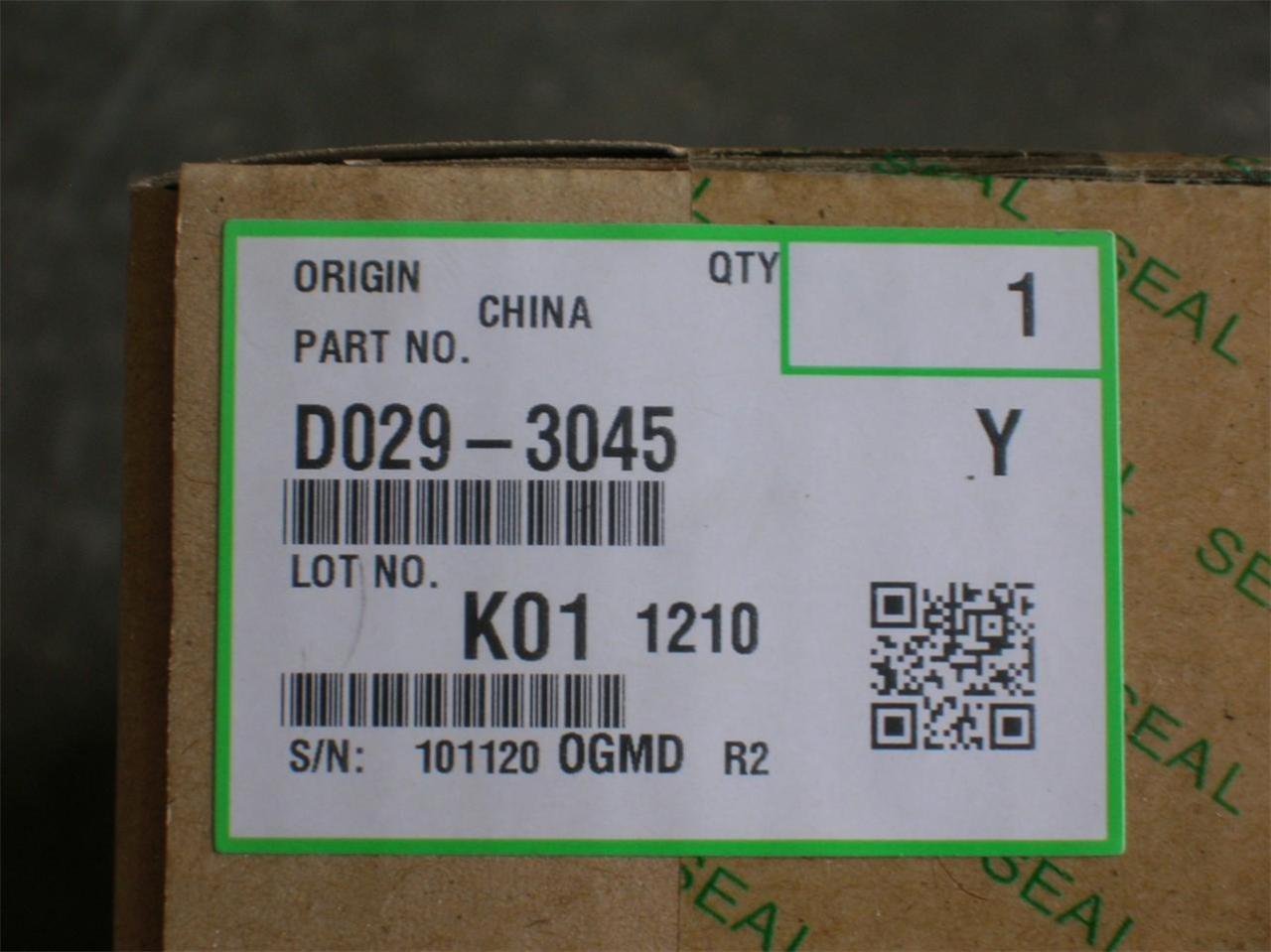 Infotec D029-3045 Development Unit Originale Giallo