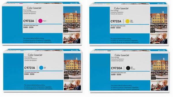 Hp c973x confezione multipack 4 colori: cyano-magenta-giallo-nero