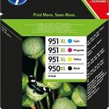 toner e cartucce - C2P43AE Multipack: cyano. magenta. giallo, nero.HP 950XL+ HP 951XL
