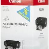 toner e cartucce - PGI-9MULTI1 Confezione colore 5 Cartucce PGI-9: MBK +PC +PM +R +G