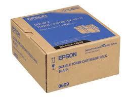 Epson C13S050609 toner nero durata 6.500 pagine, confezione doppia 2 pezzi