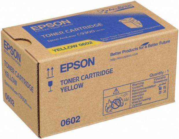 Epson C13S050602 toner giallo, durata 7.500 pagine