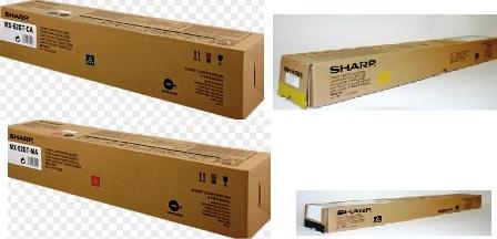 Sharp mx-62gtya toner giallo, durata 40.000 pagine