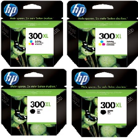 Hp 300-XL-4PCK Multipack originale 4 colori: 2* CC641EE+ 2* CC644EE