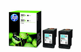 toner e cartucce - D8J45AE Multipack nero 2 x HP 301 XL nero, 2 cartucce da 480 pagine