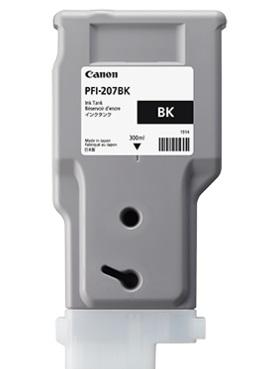 Canon pfi-207bk cartuccia nero, capacit� 300ml