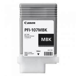 Canon pfi-107mbk cartuccia nero opaco, capacit� 130ml