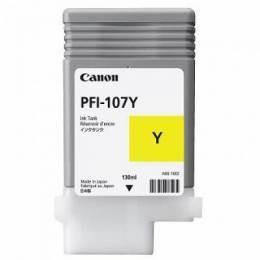 Canon pfi-107y cartuccia giallo, capacit� 130ml