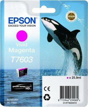 Epson C13T76034010 Cartuccia d'inchiostro magenta (vivid) 25.9ml