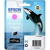 Epson C13T76064010 Cartuccia d'inchiostro magenta (chiaro,vivid) 25.9ml