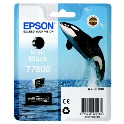 Epson C13T76084010 Cartuccia d'inchiostro nero (opaco) 25.9ml
