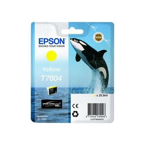 Epson C13T76044010 Cartuccia d'inchiostro giallo 25.9ml