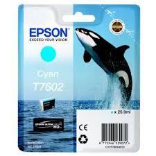 Epson C13T76024010 Cartuccia d'inchiostro ciano 25.9ml