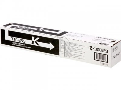 kyocera TK-895K toner originale nero, durata 12.000 pagine