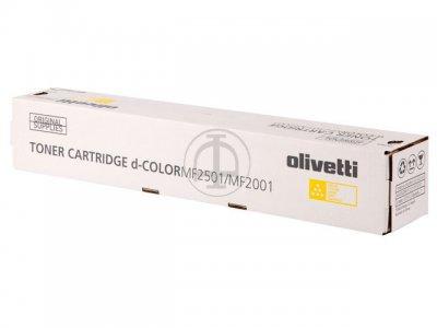 Olivetti B0993 toner giallo, durata 6.000 pagine