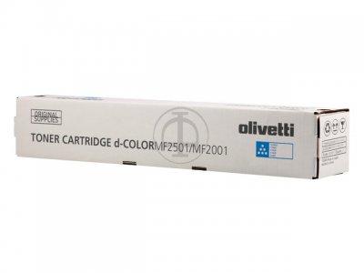 Olivetti B0991 toner cyano, durata 6.000 pagine