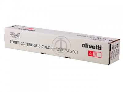 Olivetti B0992 toner magenta, durata 6.000 pagine