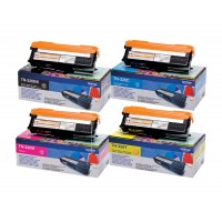 Brother tn-320x4 Multipack 4 colori: cyano, magenta, giallo, nero. Bassa capacit�