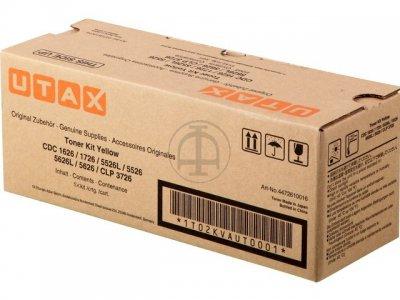 Utax-Triumph Adler 4472610016 toner giallo, durata  5.000 pagine