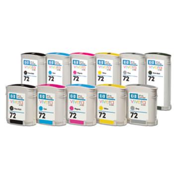 toner e cartucce - c937x Multipack 6 cartucce da 130ML : C9370A+C9371A+C9372A+C9373A+C9374A+C9403A