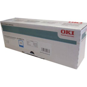 Oki 43865731 toner cyano, durata indicata 6.000 pagine
