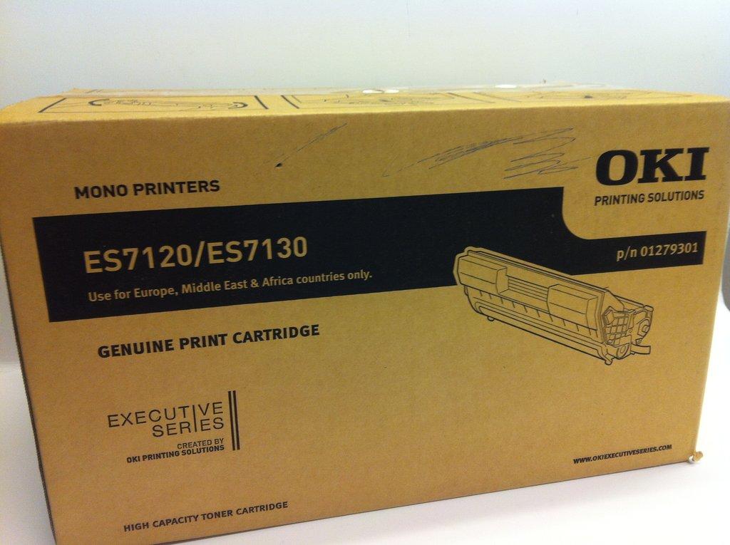 Oki 01279301 toner nero di stampa, durata indicata 17.000 pagine