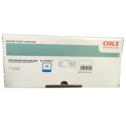 toner e cartucce - 45396215 toner cyano, durata indicata 11.500 pagine