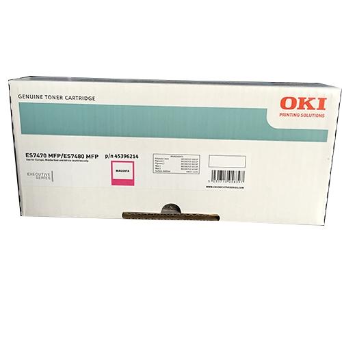 Oki 45396214 toner magenta, durata indicata 11.500 pagine