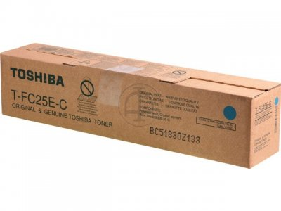 Toshiba t-fc25ec toner cyano, capacit�  26.800 pagine