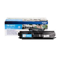 Brother tn-321c toner cyano, durata 1.500 pagine