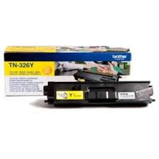 Brother tn-326y toner giallo, durata 3.500 pagine