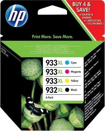 toner e cartucce - C2P42AE HP 932XL + 3x cartucce HP 933XL: c +m +y