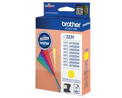 Brother lc-223y cartuccia giallo, durata 550 pagine