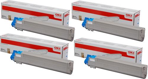 toner e cartucce - 45536506 toner magenta alta capacit�, durata 38.000 pagine