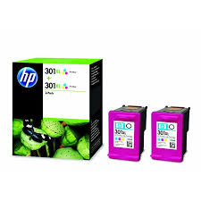 toner e cartucce - D8J46AE Multipack colore 2 x HP 301 XL colore, 2 cartucce da 330 pagine