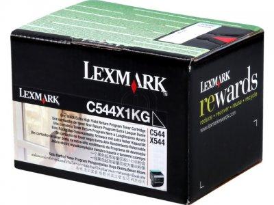 toner e cartucce - C544X1KG  toner nero, durata 6.000 pagine